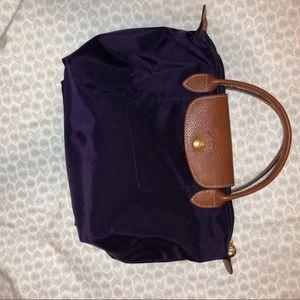 Longchamp small top handle bag
